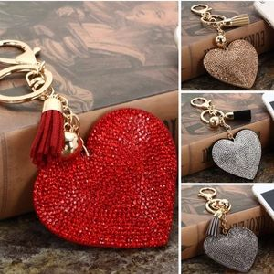 Crystal Rhinestone Bling❤️ Keychain purse Toggle
